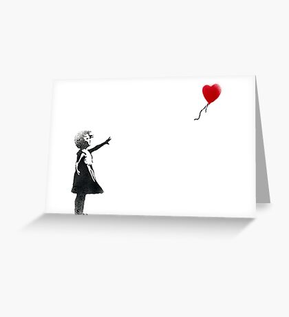 banksy-19 Greeting Card