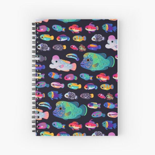 Wrasse! Spiral Notebook