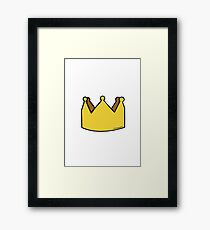 Crown Framed Print