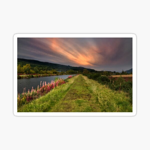 Caledonian Canal - Fort Augustus Sticker