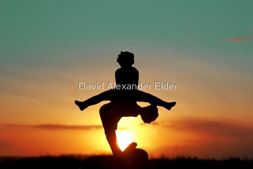 2016 Leap Year Sunset by David Alexander Elder