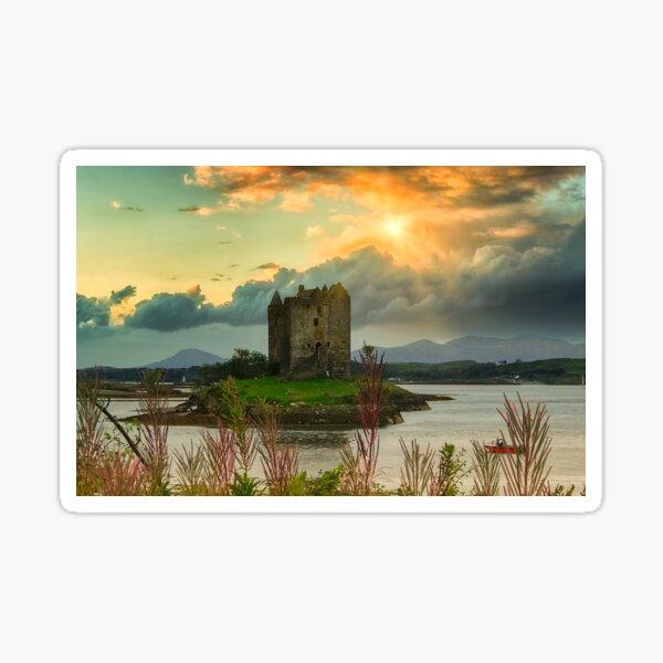 Stalker Castle - Appin Scotland Sticker