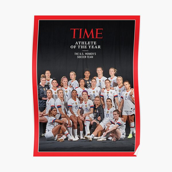 USWNT TIME Women's World Cup 2019 Poster