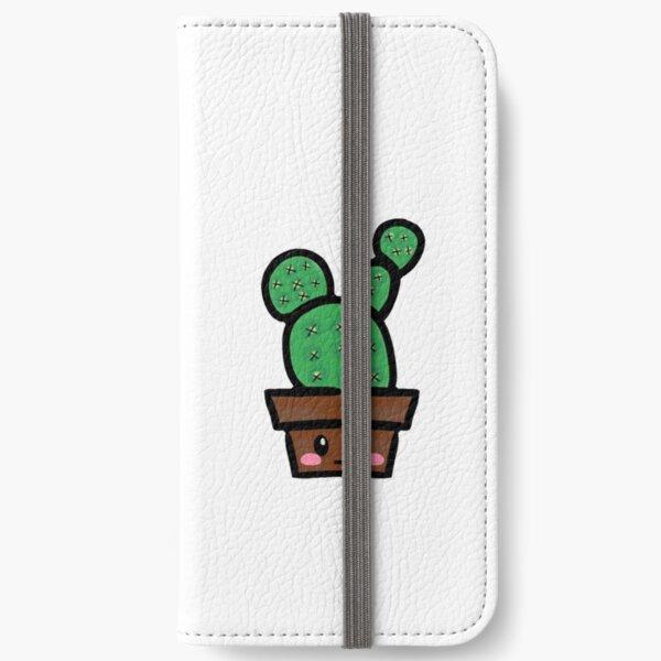 cute cactus  iPhone Wallet