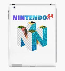 Vaporwave Nintendo 64 iPad Case/Skin