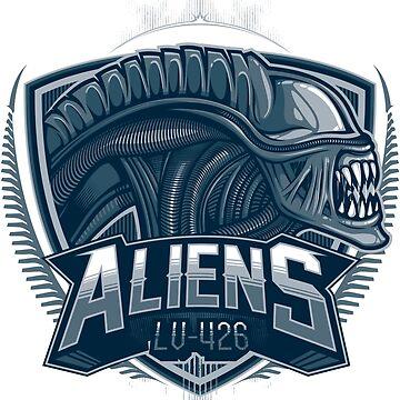 Aliens Team by studioemeseis