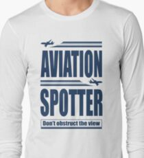 Aviation Spotter the view T-Shirt