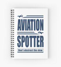 Aviation Spotter die Aussicht Spiralblock
