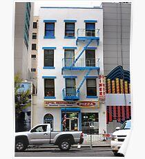 New York City Storefront Poster