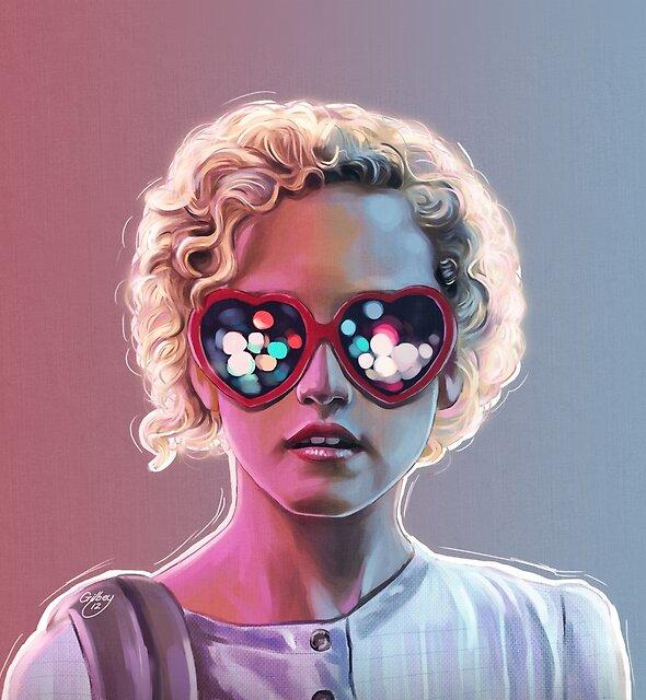 Electrick Girl by Sam Gilbey