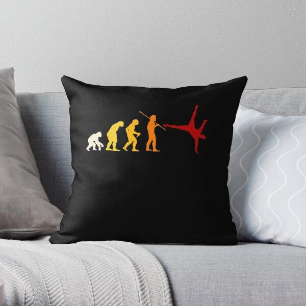 Tricking And Gymnastics Throw Pillow