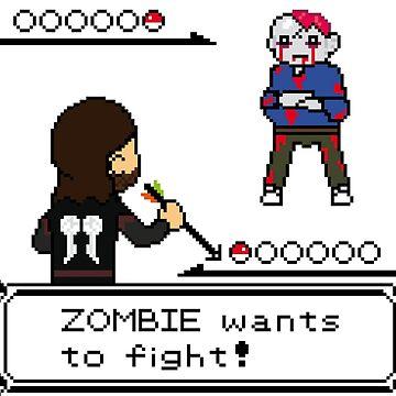 The Walking Dead / Pokemon Fanart by acgraphism