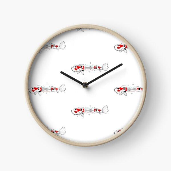 Skelet-Koï Horloge