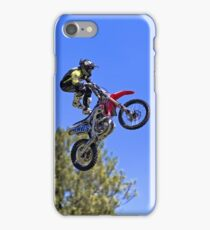 The Bolddog Lings FMX Motorcycle Display Team iPhone Case/Skin