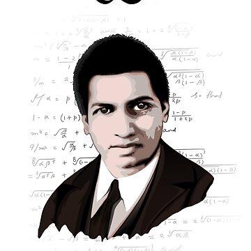 Srinivasa Ramanujan by HereticWear