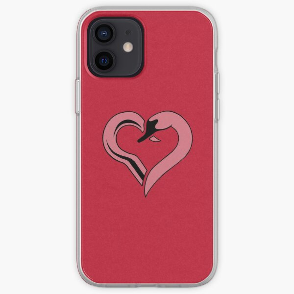 Captain Swan heart iPhone Soft Case