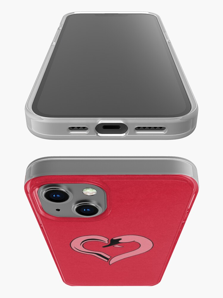 Alternate view of Captain Swan heart iPhone Case