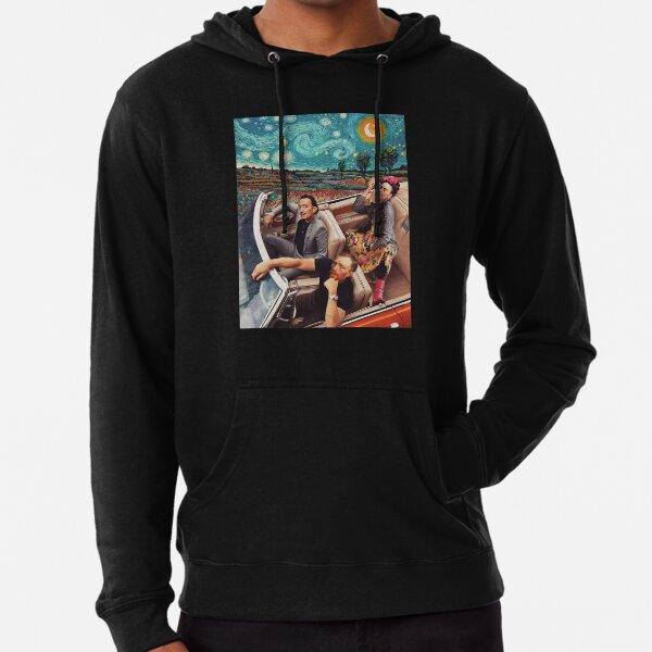 Berühmte Künstler, Vincent Van Gogh, Frida Kahlo, Salvador Dali, Banksy, Van Gogh, Frida, Dali, Künstler Parodie Fan Art Leichter Hoodie
