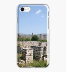 The Courtyard Of The Bishops Palace Aphrodisias Turkey iPhone Case/Skin