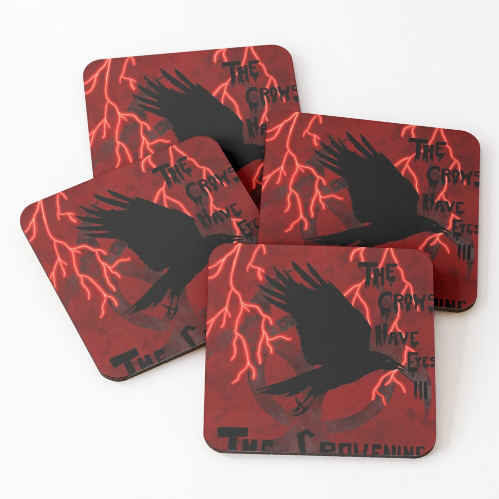 The Crows Have Eyes 3: The Crowening Coasters (Set of 4)