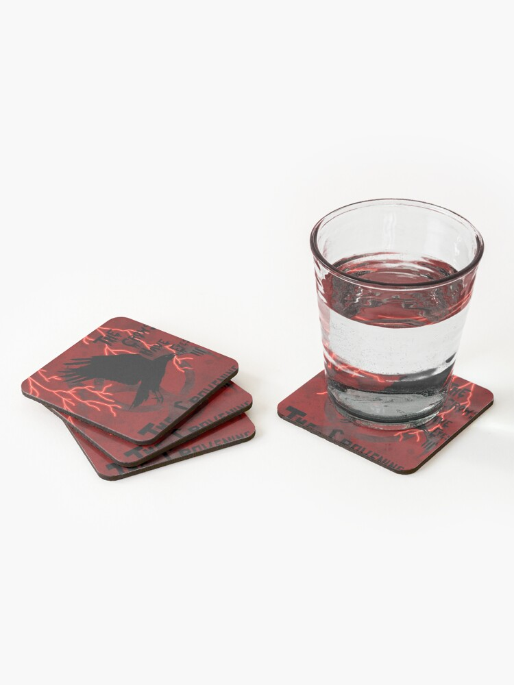 Alternate view of The Crows Have Eyes 3: The Crowening Coasters (Set of 4)