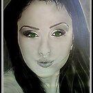"""""""BIKAA@BEAUTIFUL EYES """", drawing pencil on A3.  by Font  Rodica-Luminita"""