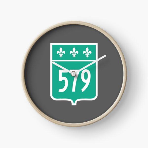 Quebec Provincial Highway 579 (Area Code 579) Clock