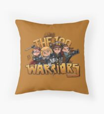 The 100: Warriors Throw Pillow