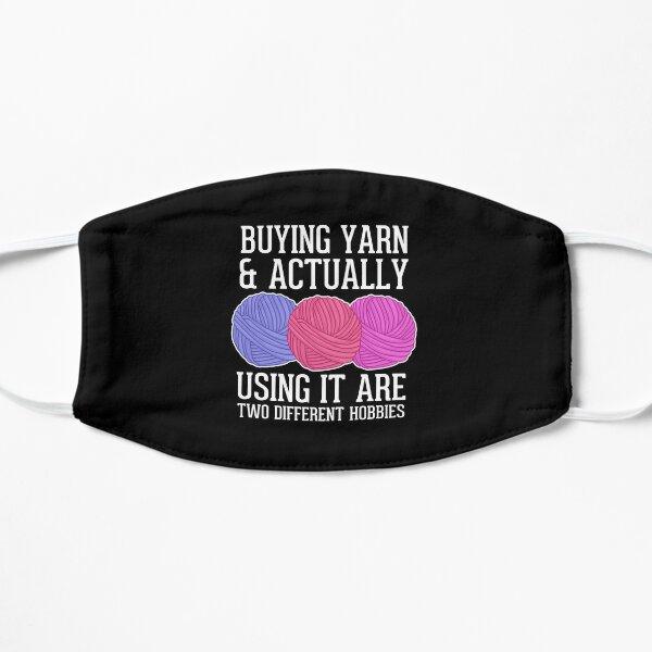 Buying Yarn Crochet Crocheting Gift Flat Mask