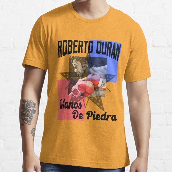 Roberto Duran Manos De Piedra Yellow Essential T-Shirt