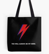 DAVID BOWIE HERO Tote Bag