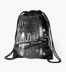Venice by Night Drawstring Bag