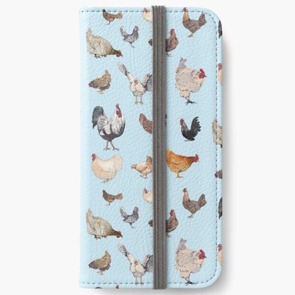 Chicken Happy iPhone Wallet