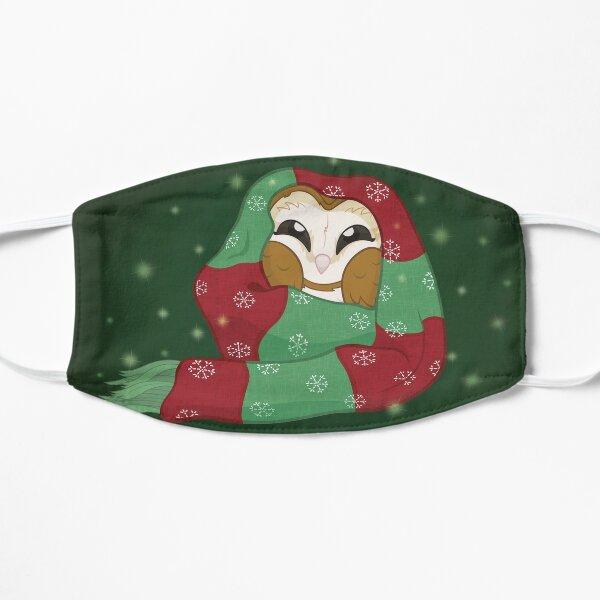 Comfy Cozy Christmas Owl Flat Mask