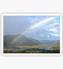 Ladies View - Ring of Kerry - Ireland Sticker