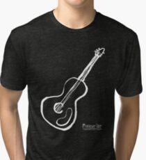 Guitar Symbol WoB Tri-blend T-Shirt