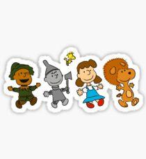 The Wizard of Oz - Snoopy Sticker