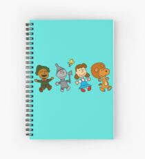 The Wizard of Oz - Snoopy Spiral Notebook