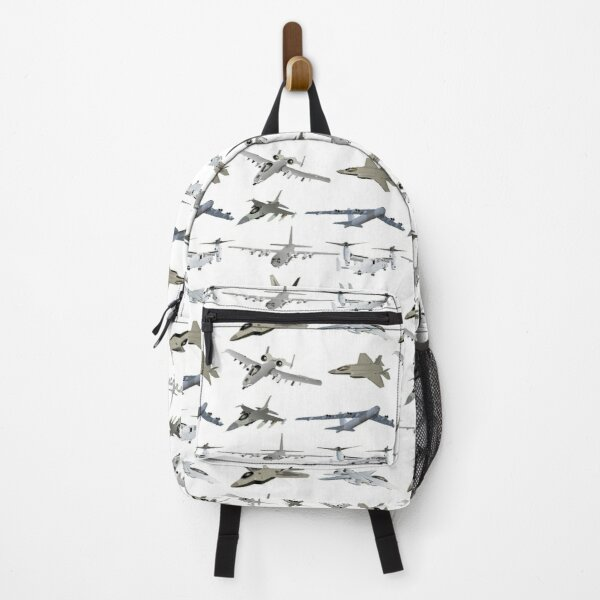 US Military Airplanes  Backpack
