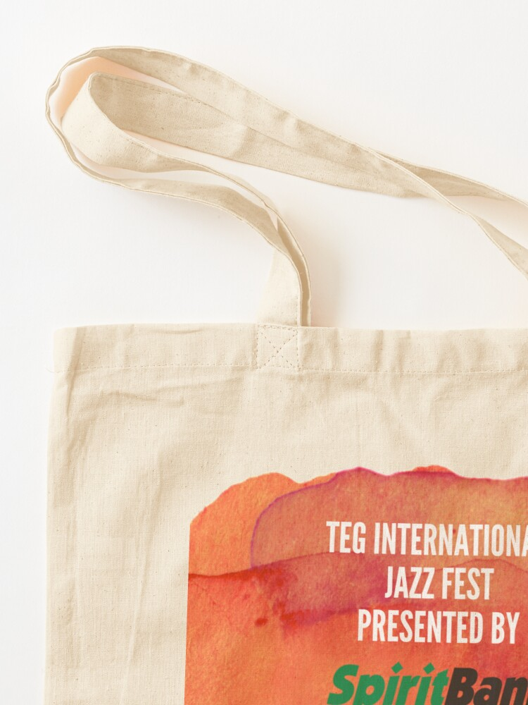 Alternate view of 2020 TEG International Jazz Fest Presented by SpiritBank! Tote Bag