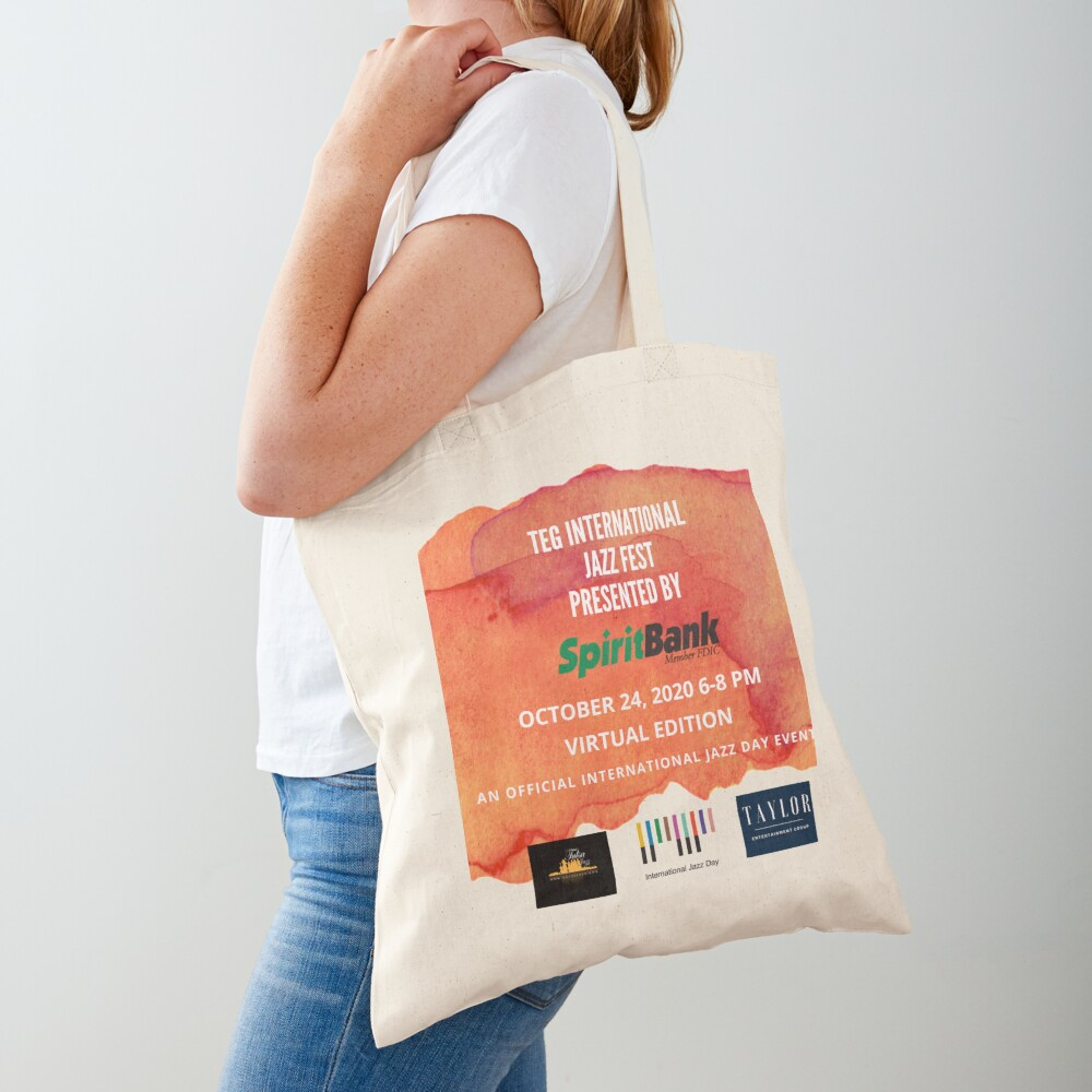 2020 TEG International Jazz Fest Presented by SpiritBank! Tote Bag