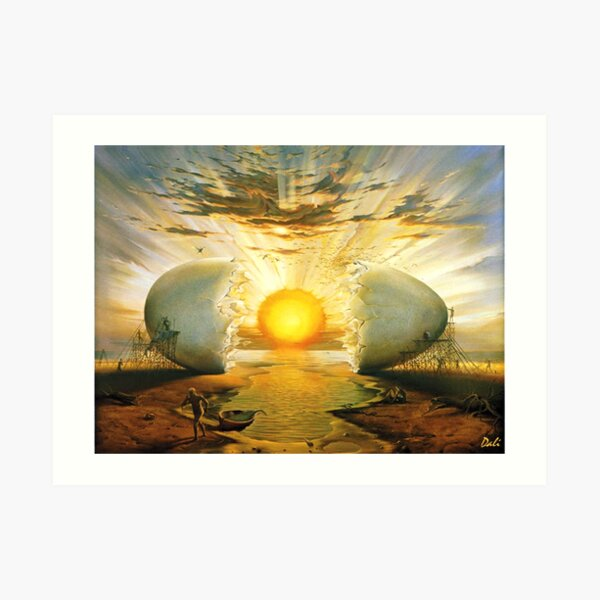 L'aurora Salvador Dali Art Print