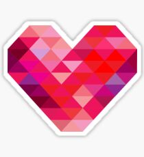 Prism Heart Sticker
