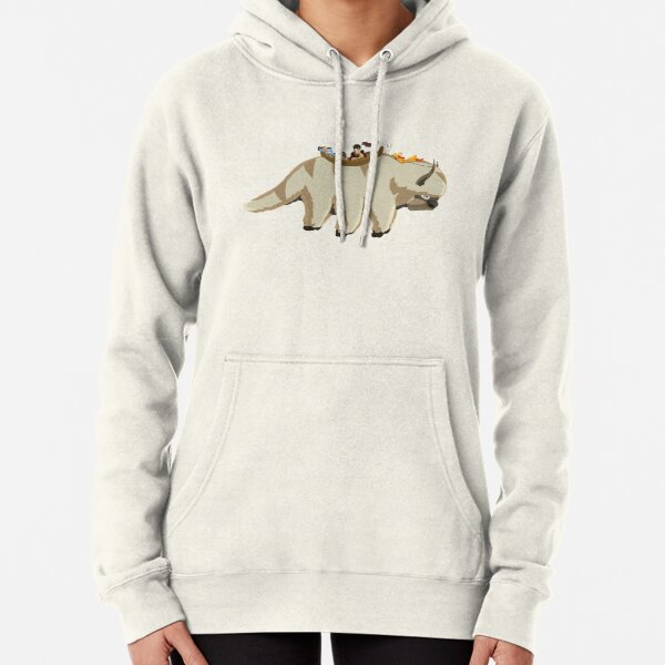 Team Avatar on Appa Pullover Hoodie