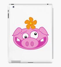 Silly Cartoon Piggie iPad Case/Skin