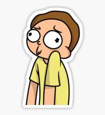 Derp Morty Sticker
