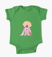 Cute baby girl cartoon One Piece - Short Sleeve
