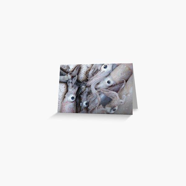 5 (S)quid (a quid a squid) Greeting Card