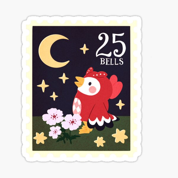 Celeste and the Moon Sticker