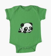 Cute Cartoon Baby Panda One Piece - Short Sleeve